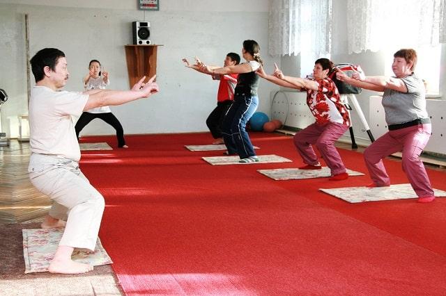 Упражнения цигун утром: 20 минутная оздоровительная гимнастика