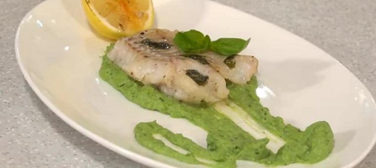 Рецепт трески с брокколи при похудении