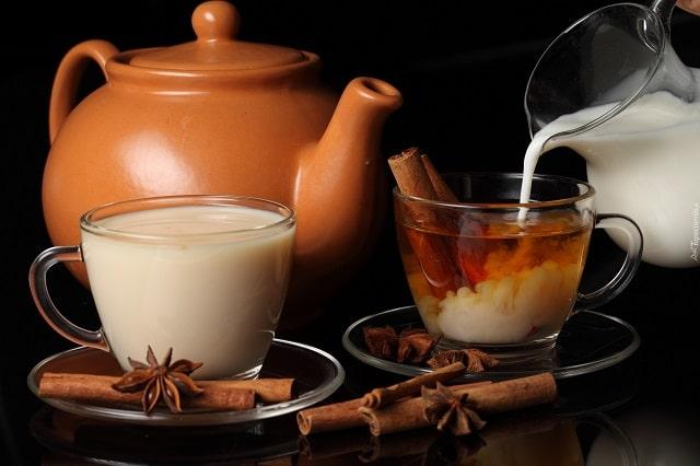 Чай с молоком польза или вред для женщин?